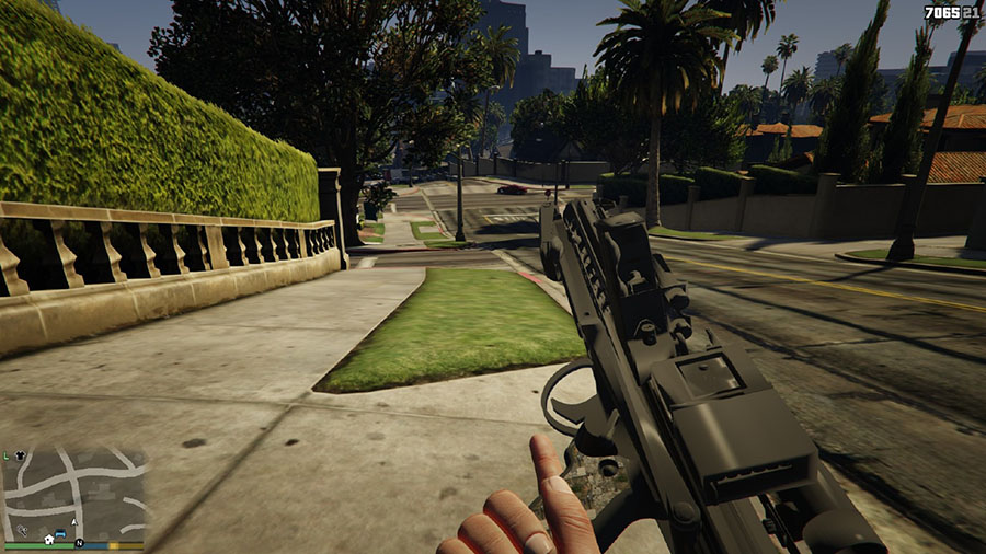 Star Wars E-11 Blaster Rifle для GTA V - Скриншот 2