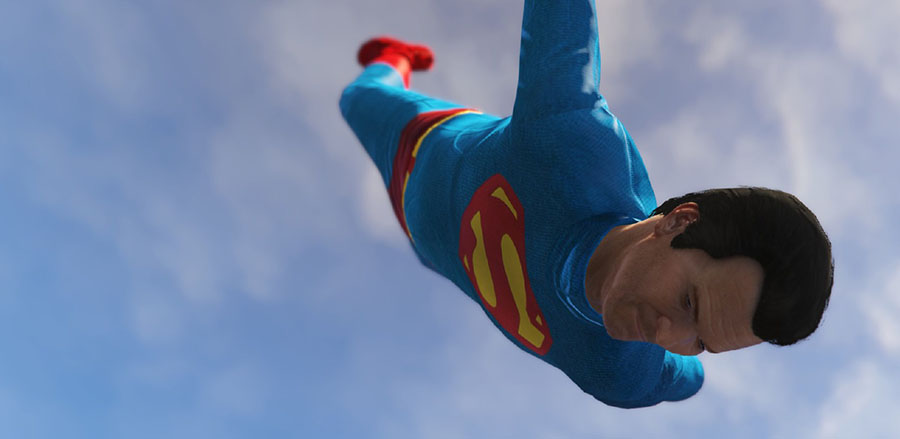 Superman Movies & TV Suit Pack v1.1 для GTA V - Скриншот 1