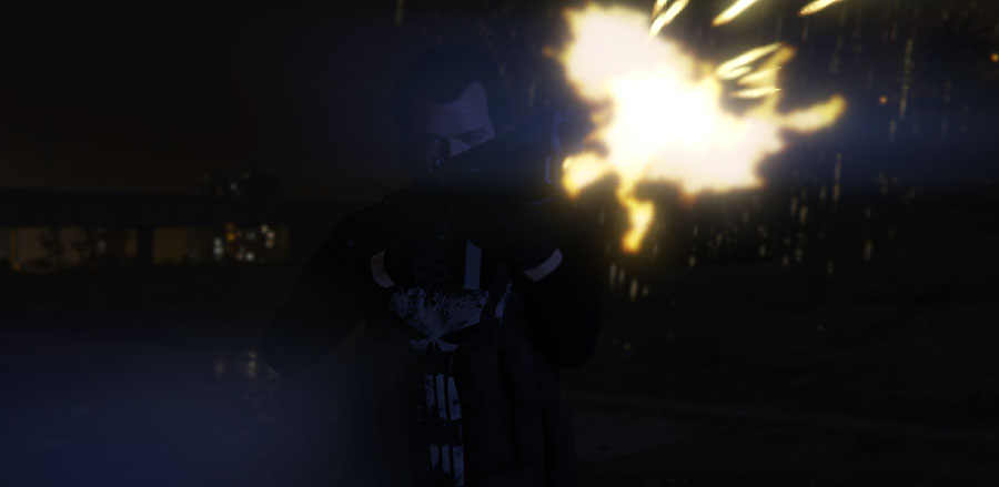 The Punisher v1.0 для GTA V - Скриншот 1