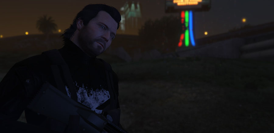 The Punisher v1.0 для GTA V - Скриншот 3