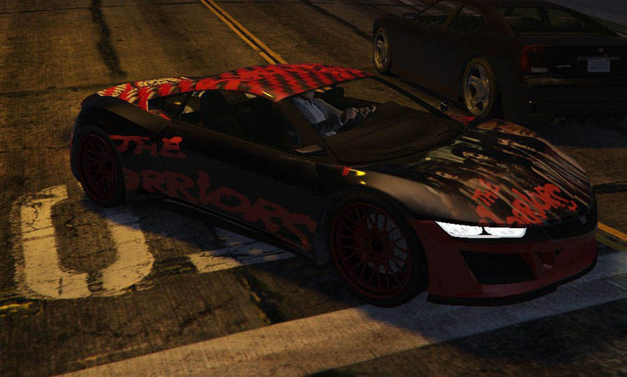 """The Warriors"" Jester Car Skin для GTA V - Скриншот 1"