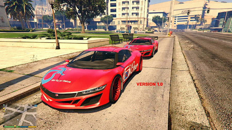 Trabzonspor Texture for Jester 2 v1.1 для GTA V - Скриншот 1