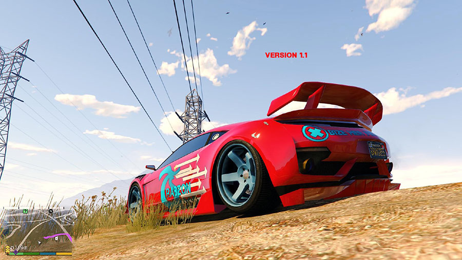 Trabzonspor Texture for Jester 2 v1.1 для GTA V - Скриншот 3