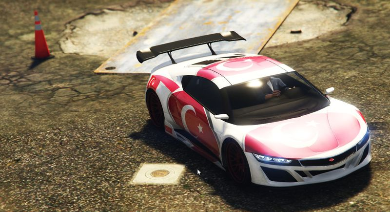 Turkey Paint Body for Dinka Jester для GTA V - Скриншот 1