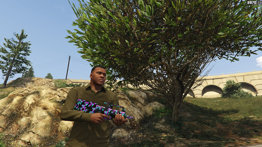 Weapon Camo Pack v1.2 (beta) для GTA V - Скриншот 3