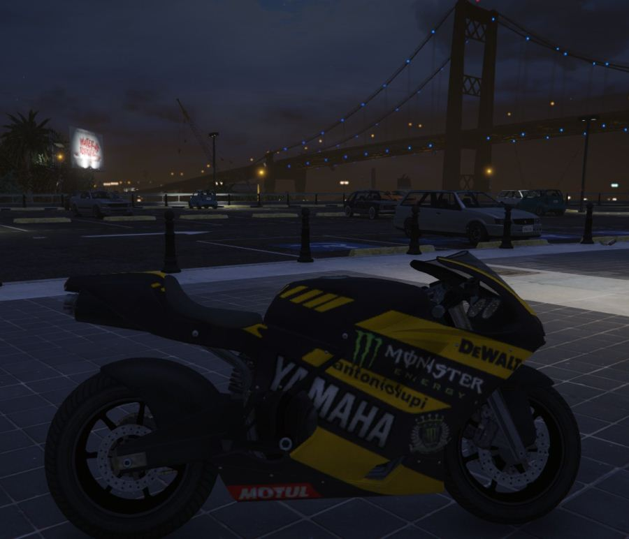 Yamaha YZF 1000R1 Monster Tech3 v0.1 для GTA V - Скриншот 2