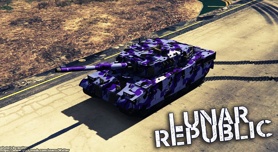 New Lunar Republic Vehicle Texture Pack v1.2 для GTA V - Скриншот 1