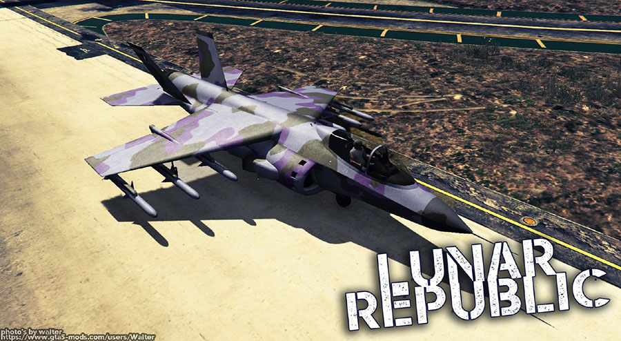 New Lunar Republic Vehicle Texture Pack v1.2 для GTA V - Скриншот 2