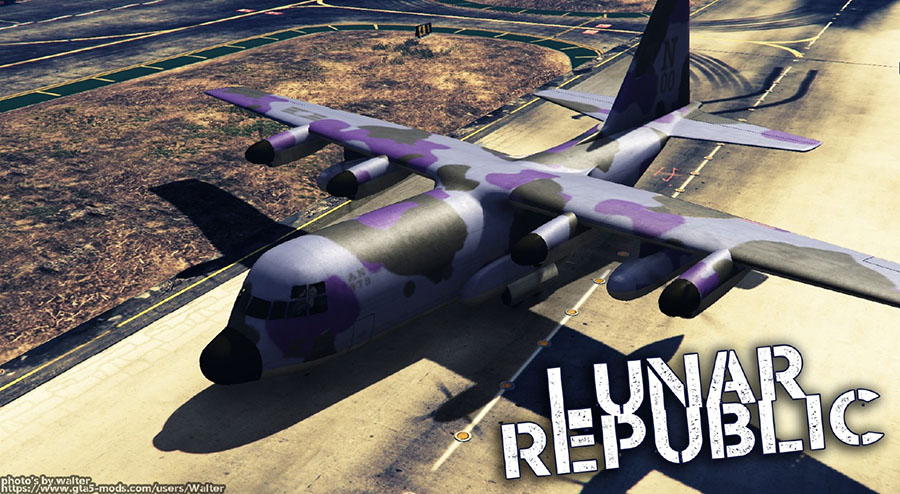 New Lunar Republic Vehicle Texture Pack v1.2 для GTA V - Скриншот 3