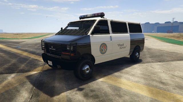 Revised Police Car Textures v3.0 для GTA V - Скриншот 1
