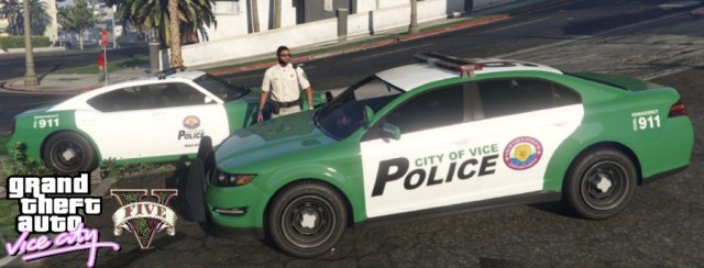 Vice City Police Cars