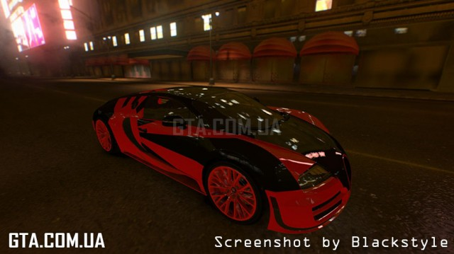 Bugatti Veyron 16.4 Super Sport Paint job