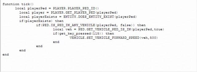 LUA Plugin for Script Hook V v10.1