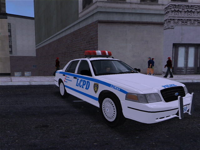 1998 Ford Crown Victoria LCPD Cruiser