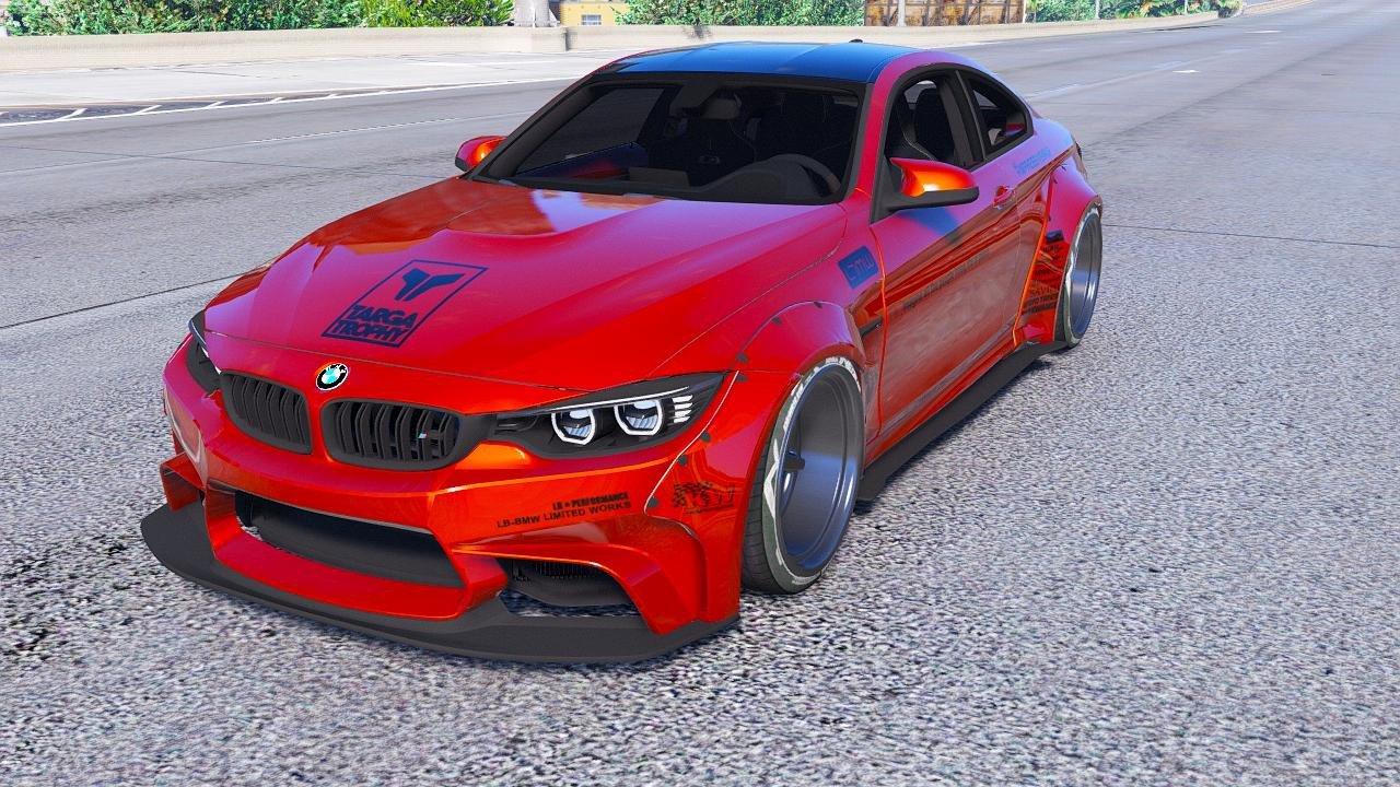 BMW M4 F82 v1.4 для GTA V - Скриншот 1