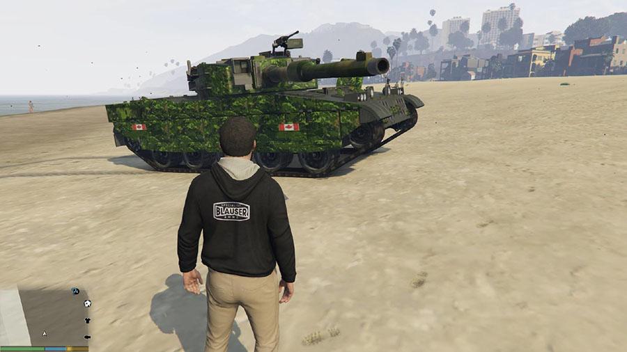Leopard 2A4 Texture v1.2 для GTA V - Скриншот 3