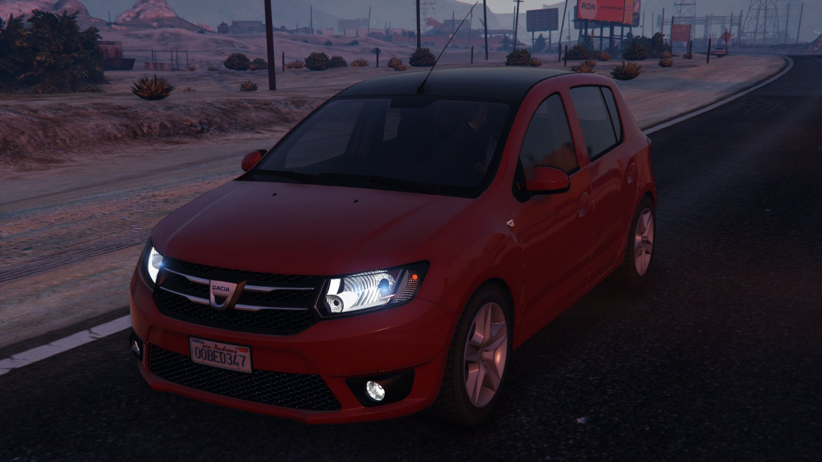 dacia sandero 2014 gta 5. Black Bedroom Furniture Sets. Home Design Ideas