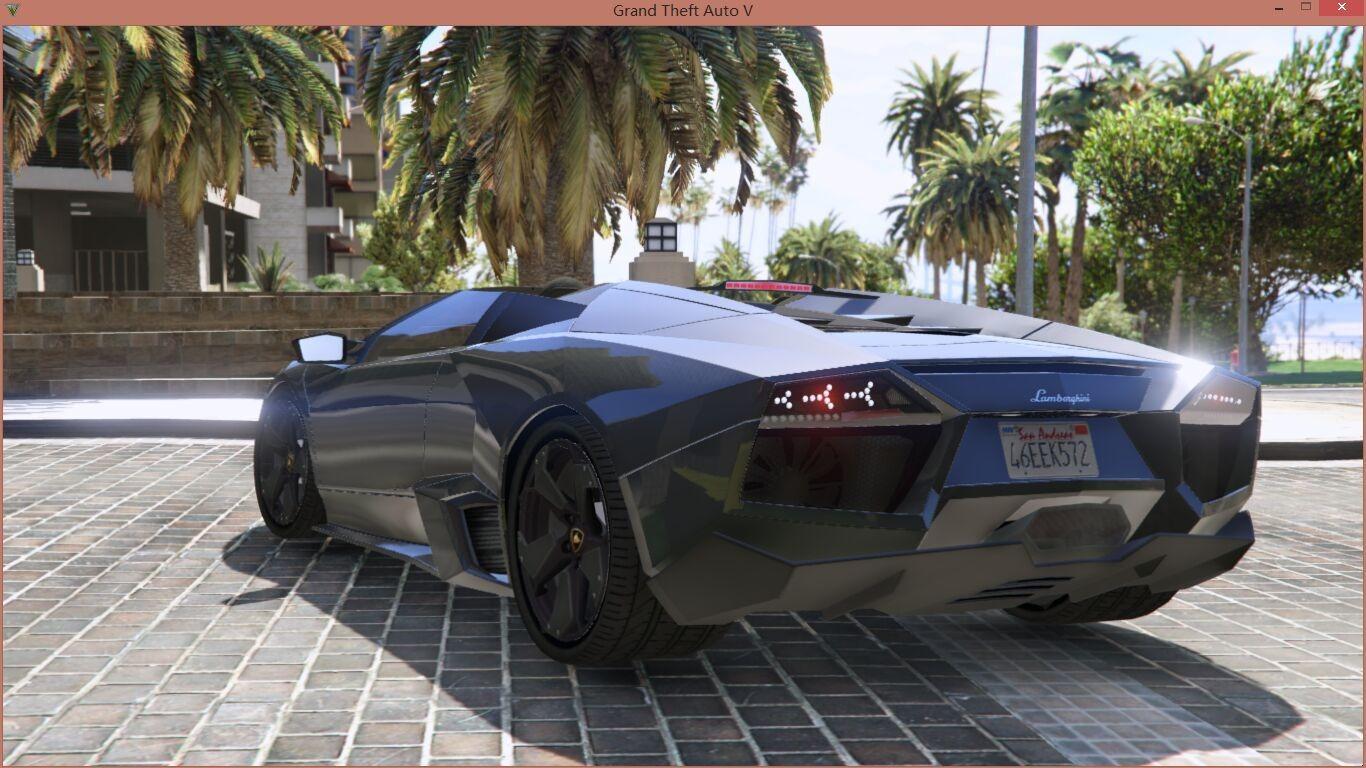 Lamborghini Reventon Roadster (beta) для GTA V - Скриншот 1