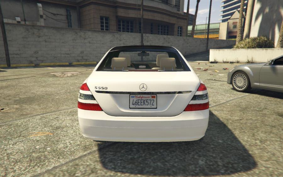 Mercedes-Benz S-Class W221 v0.4 [ALPHA] для GTA V - Скриншот 2