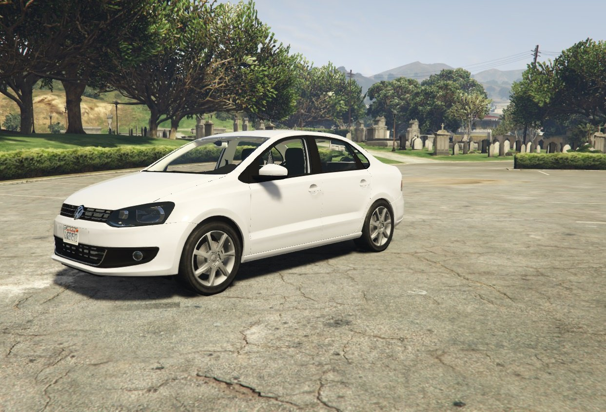 volkswagen polo sedan v1 0 tuning gta 5. Black Bedroom Furniture Sets. Home Design Ideas