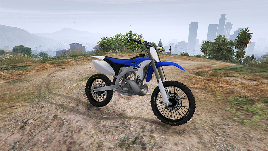Yamaha YZ 250 [BETA] для GTA V - Скриншот 1