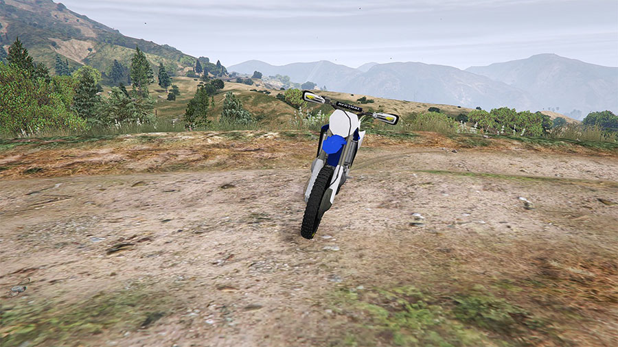 Yamaha YZ 250 [BETA] для GTA V - Скриншот 2