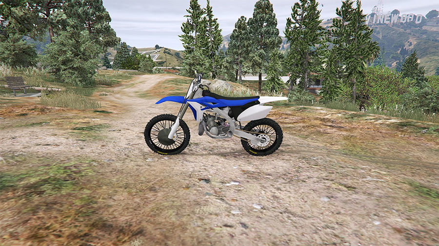 Yamaha YZ 250 [BETA] для GTA V - Скриншот 3