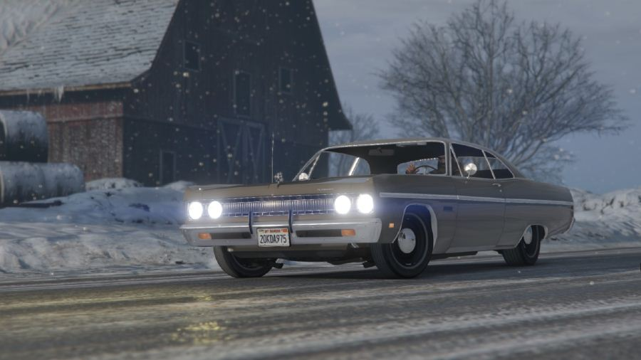 Plymouth Fury III Coupe 1969 для GTA V - Скриншот 1