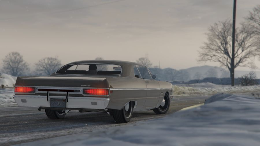 Plymouth Fury III Coupe 1969 для GTA V - Скриншот 2