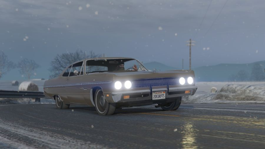 Plymouth Fury III Coupe 1969 для GTA V - Скриншот 3