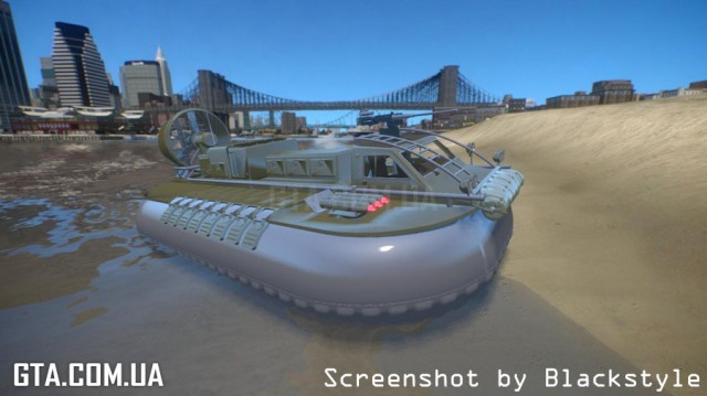 007 Die Another Day Movie HoverCraft Mod