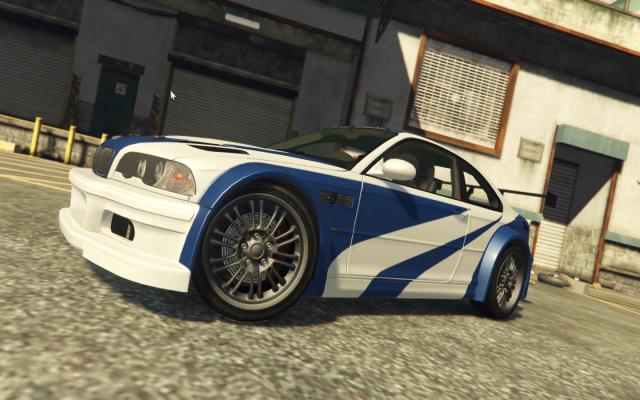 "BMW M3 GTR E46 ""Most Wanted"" v1.3"