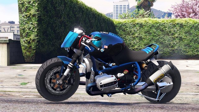 BMW R 1100R Street Fighter v1.0 для GTA V - Скриншот 1