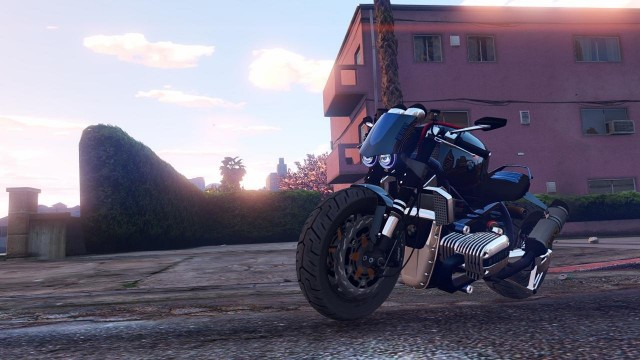 BMW R 1100R Street Fighter v1.0 для GTA V - Скриншот 2