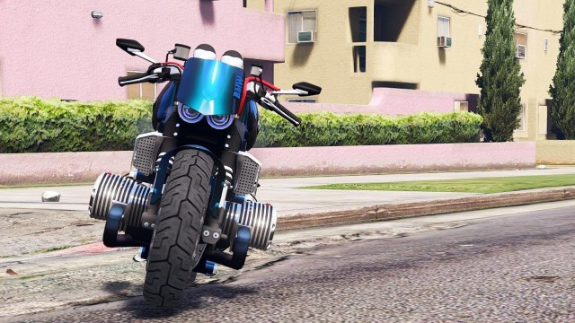 BMW R 1100R Street Fighter v1.0 для GTA V - Скриншот 3