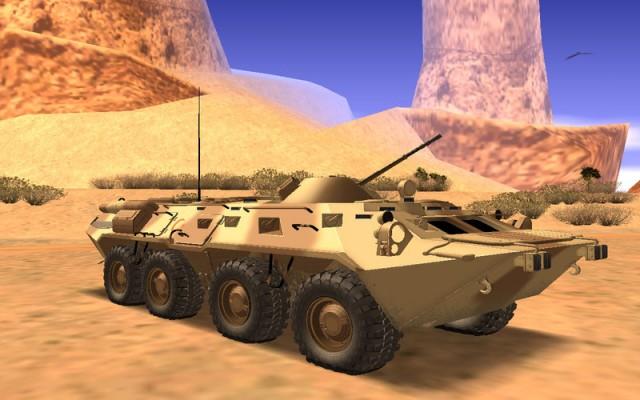"""BTR-80 """"Desert Turkey"""""""