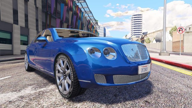 Bentley Continental Flying Spur 2010 (Add-On / Replace) v1.1