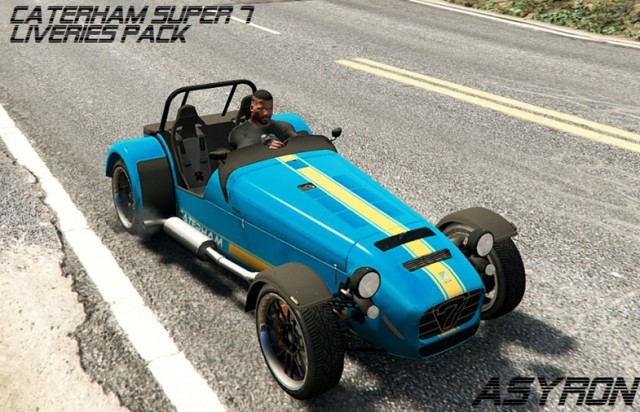 Caterham Super 7 R620 4 More Liveries