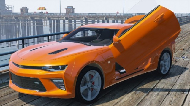 Chevrolet Camaro SS 2016 (Add-On / Replace) v2.0
