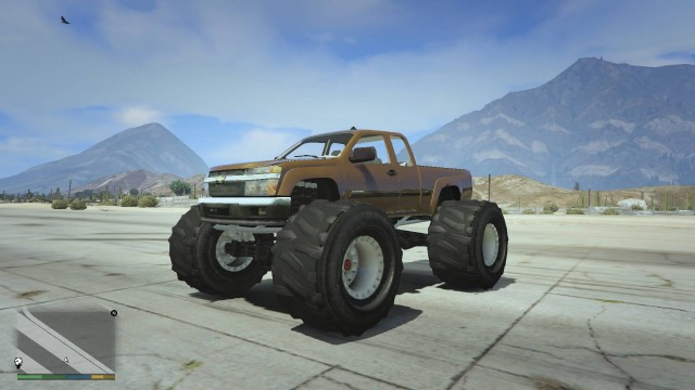 Chevrolet Colorado Monster Truck