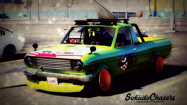 Datsun Sunny K Truck Fish Art (Add-On / Replace) v0.2