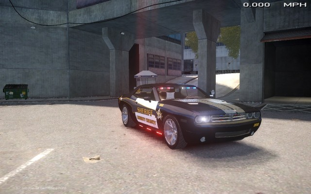 Dodge Challenger 2006 RT Pursuit Vehicle [ELS]