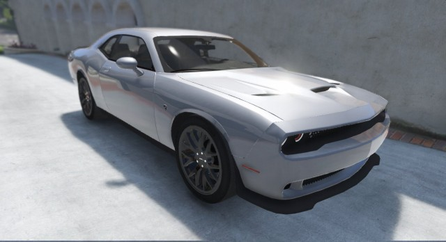 Dodge Challenger Hellcat 2016 (Add-On | Replace) v1.1