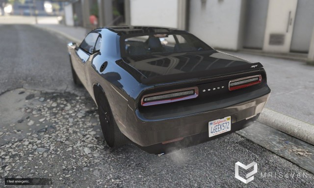 2016 Dodge Challenger Hellcat >> Dodge Challenger Hellcat 2016 (Add-On | Replace) v1.1 ...