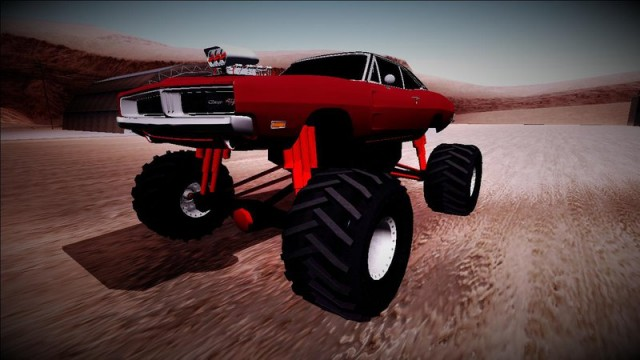 "Dodge Charger 1969 ""Monster Truck"""