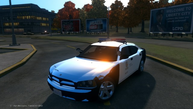 Dodge Charger 2010 LAPD PPV v9.7