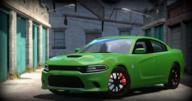 Dodge Charger 2015 SRT Hellcat