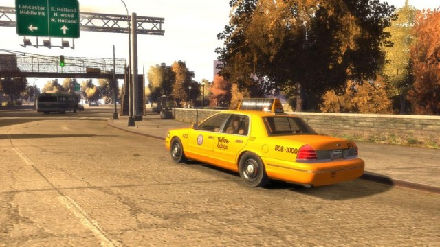 Ford Crown Victoria 2003 LA Taxi