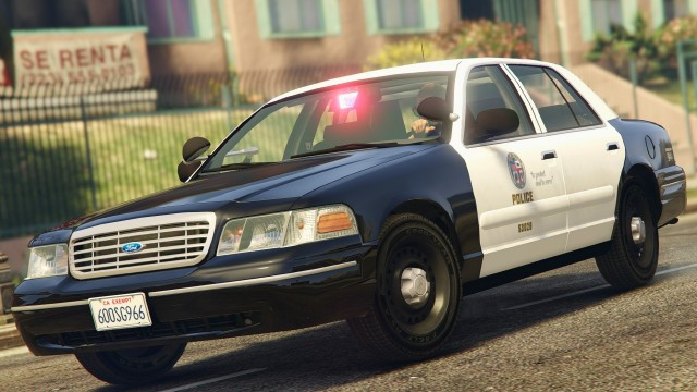 Ford Crown Victoria P71 1998 - LAPD Gang Unit v1.1