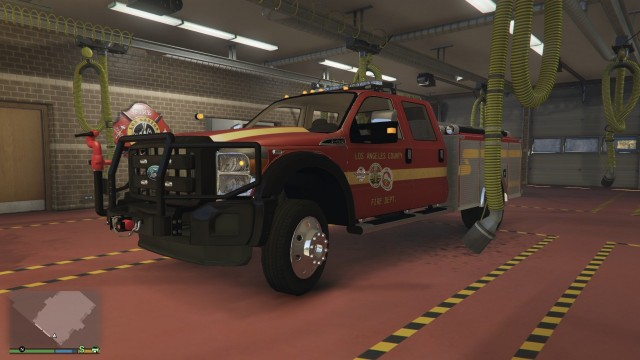 Ford F350 2013 Brush Truck v1.0